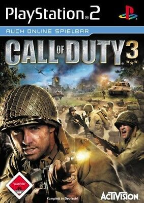PS2 / Sony Playstation 2 Spiel - Call of Duty 3 (mit OVP)