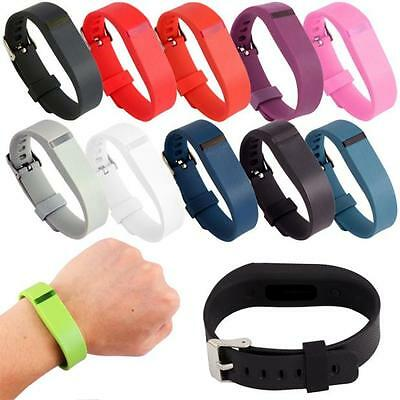 Replacement Wristband Bracelet Strap Band for Fitbit Flex Classic Buckle