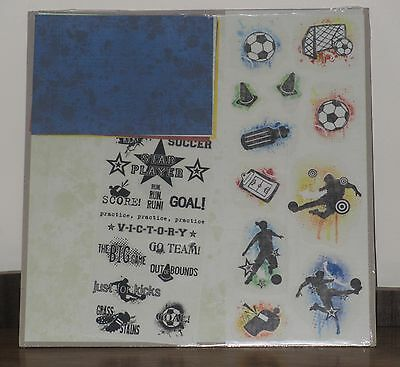 "Creative Memories 12"" x 12"" Additions - Soccer"