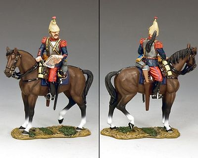 """KING AND COUNTRY  WW1 """"CUIRASSIER STUDYING MAP """" FW221,metal military 1.30 scale"""