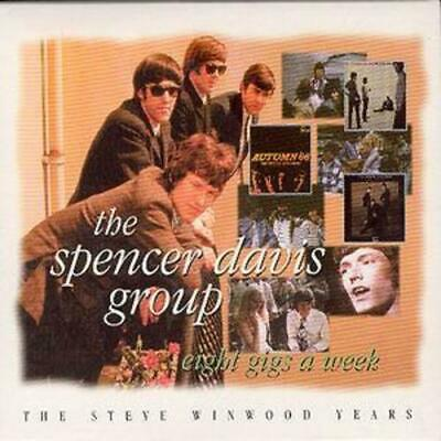 The Spencer Davis Group : Eight Gigs a Week: The Steve Winwood Years CD 2 discs