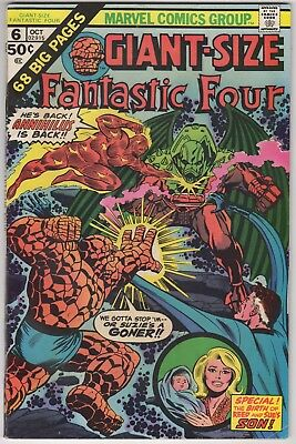 Giant Size Fantastic Four #6  FN-