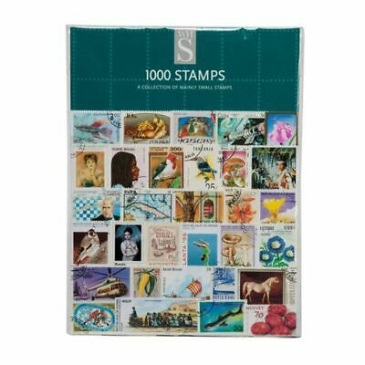 WHSmith Assorted Collectable Stamps With Mint Postally Used Or CTO Pack Of 1000