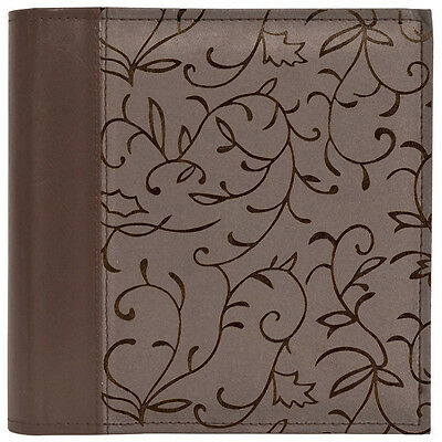 "Innova Elegance Grey Slip-In Photo Album Book Bound Holds 200 6 x 4"" Photos"