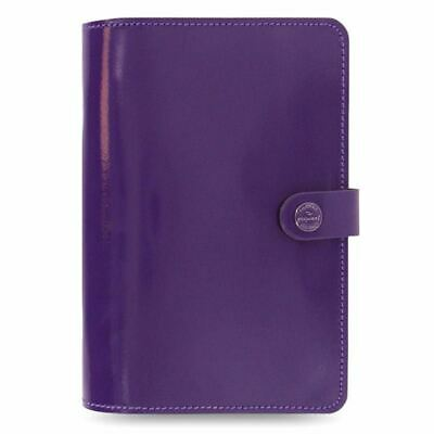Filofax The Original Personal Organiser Purple Patent Leather With Retro Finish