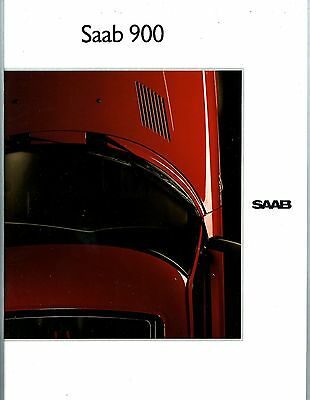 1990 Saab 900 Prestige Brochure Finnish my6344