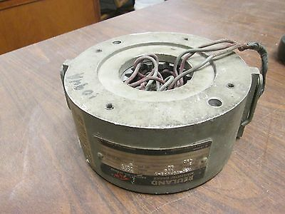 Reuland Model 42B1 Magnetic Brake XHPA 1.5 ft/lbs Torque 460V 3Ph 60Hz Used