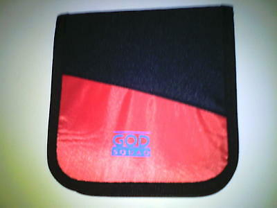 2 Cd Dvd Wallets Case Holder Holds 20 Disc Capacity God Squad See My Other Items