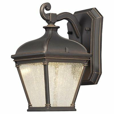 "The Great Outdoors 72391-143C Oil Rubbed Bronze / Gold 1 Light 10"" Height LED"