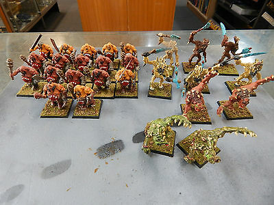Games Workshop Fantasy Ogre Kingdoms Ogres and Troll's and Yetti's