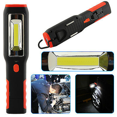 3W COB + 1W LED  Inspection Lamp Torch Rechargeable Magnetic Flexible Work Light