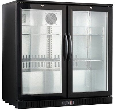 "36"" Wide 2-door Back Bar Beverage Cooler ( Free Shipping )"