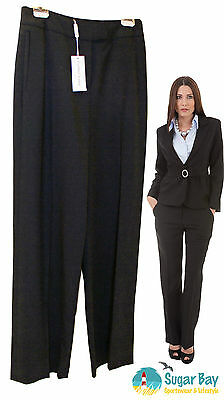 Austin Reed Womens Ladies Formal Business Suit Trousers Pure New Wool Rrp 99 44 99 Picclick Uk