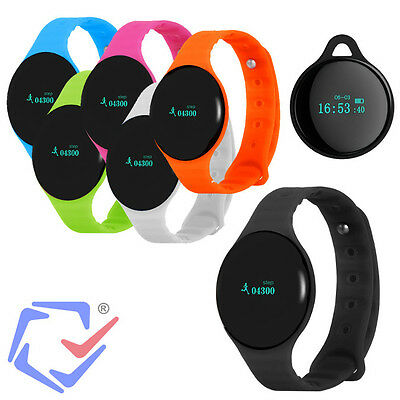 Smartband Bluetooth Schrittzähler Uhr Fitness Tracker IOS Android Sport Armband
