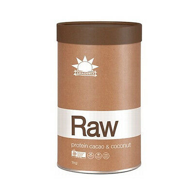 Amazonia Raw Organic Protein Isolate Cacao and Coconut 1kg Shipped Free Same Day