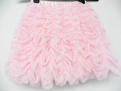 Shrinking Violet Pink Frothy Ruffle Party Skirt, Lined,  Age 4 Years (May10)Y