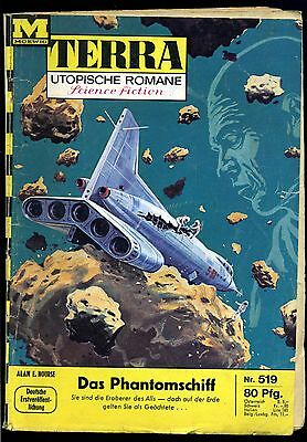 Terra--Utopische Romane -- Science Fiction -- Band 519 -- Romanheft --