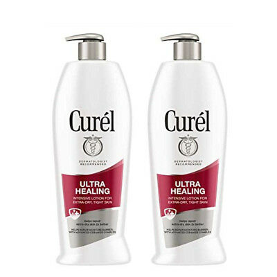 2 Pack - Curel Ultra Healing Lotion For Extra Dry Skin 13oz Each