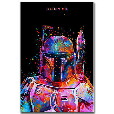 Star Wars Movie Silk Poster Art Print 12x18 24x36 inch Hunter Boba Fett