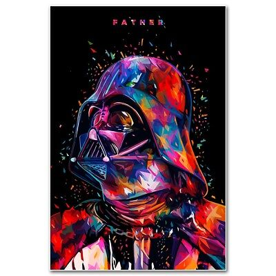 Star Wars Movie Silk Poster Art Print 12x18 24x36 inch Darth Vader 045