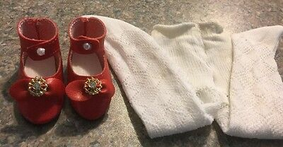 """Tonner 14"""" Betsy McCall AUTHENTIC TONNER  Red Shoes And White Tights. EUC"""