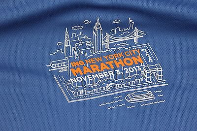 Large New York City Marathon 'Marathoner' long sleeve t shirt 11/3/13