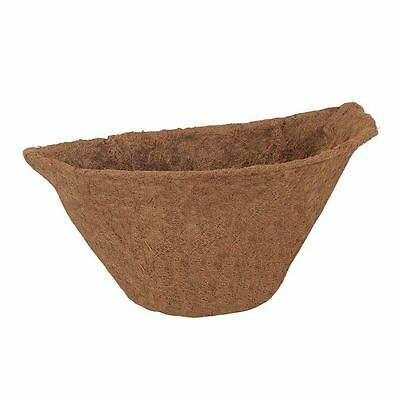 "Wall Basket Liner/Planter Insert (Semi Circle Shape 20"" set of 2)"
