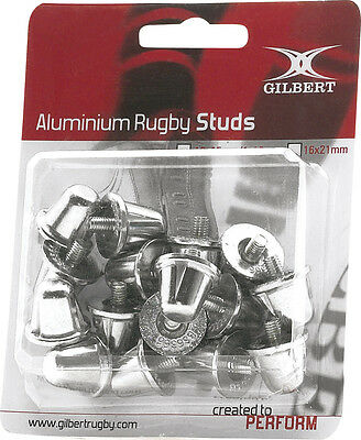 Gilbert Official Rugby Shoe Studs Aluminium Replacement Boot Spikes Pack Of 100