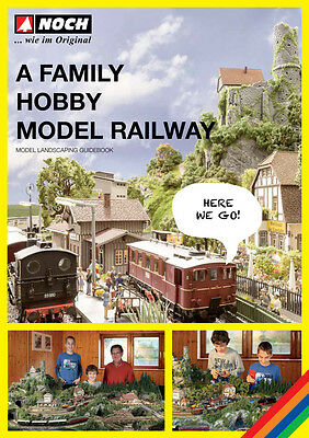"Noch 71905 Guidebook ""A Family Hobby - Model Railway"" English #NEU in OVP#"