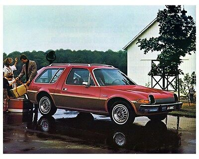 1977 AMC Pacer DL Wagon Factory Photo ca5389
