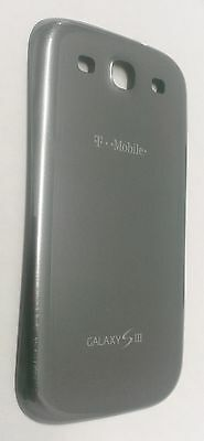 OEM Samsung Galaxy S3 S III 3 I747 T999 Back Cover Battery Door - T-Mobile Gray