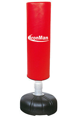 IronMan Free Standing Punch Bag - Stands 165cm Tall - RRP: $389