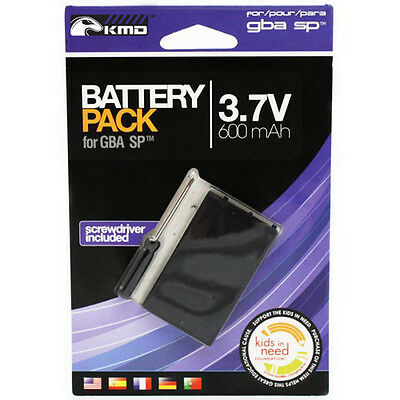 New Game Boy Advance Sp Replacement Battery Pack - Includes Tool