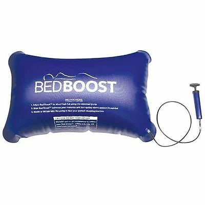 Bed Boost Inflatable Cushion Support Mattress Sagging Quick Fix Handheld Pump