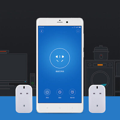 Smart Timer Power Switch WiFi Remote Control For iOS/Android UK Plug Socket UK