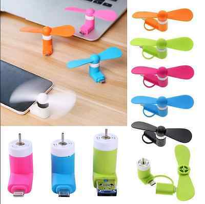 Mobile Fan Portable Cellphone Mini Fan For Android Phone Samsung HTC LG