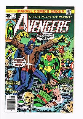 Avengers # 152  Nightmare in New Oleans grade 8.5 scarce book !!