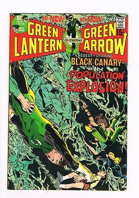 Green Lantern # 81  The Population Explosion ! grade 7.5 scarce book !!