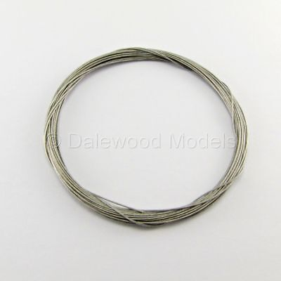 Rudder Pull Pull Coated Steel Wire 0.6mm x 5Mtr