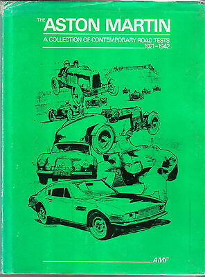 Aston Martin 1921-42 Collection of Road Tests Hardback book Limited Edition 492