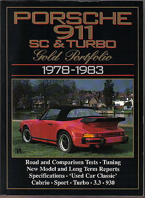 Porsche 911 SC & Turbo 1978-83 Gold Portfolio Road Tests Tuning Specifications +