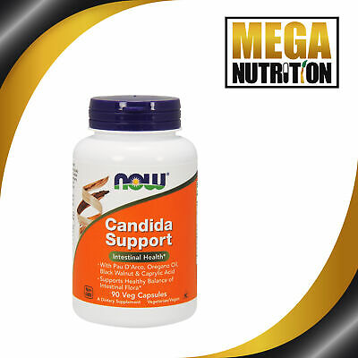 Now Foods Candida Support (Formerly Candida Clear) x90Vcaps - SUPERSELLER!!!!