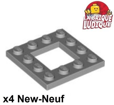 Lego x4 Plate Modified plaque cadre 4x4 with 2x2 Cutout blanc//white 64799 NEUF