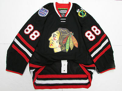 Kane Chicago Blackhawks 2014 Stadium Series Reebok Edge 2.0 7287 Jersey Size 50