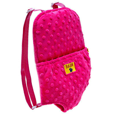 Build A Bear Pink Backpack Carrier Adjustable Straps BABW Accessory New w/Tags