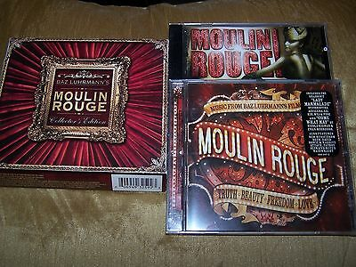 Moulin Rouge 2 Cd Collector's Edition Baz Luhrmann 27 Tracks Inc Card Case