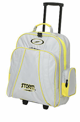 Storm RASCAL 1 Ball Roller Bowling Bag Silver Yellow