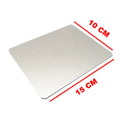 Microwave Oven Parts Mica Sheet 15cm x 12cm Cut to Any Size, Belling, Dimplex or