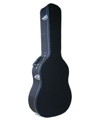 Artist CC300 Black Classical Guitar Hard Case With Lock - New