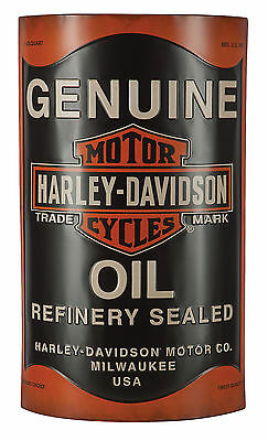 Harley-Davidson® Bar & Shield 3-D Genuine Oil Can Metal Wall Sign HDL-15511